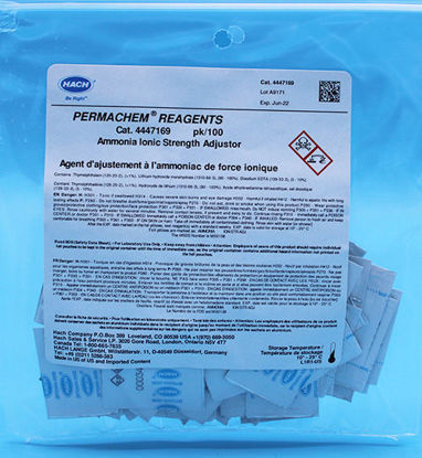 Picture of PK(100/pk) - H-44471-69 - Ammonia ISA Buffer PP (H4447169)