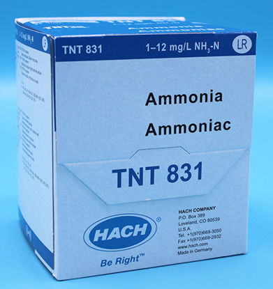 Picture of PK(25/pk) - H-TNT831 - Ammonia TNTplus Vial Test, LR, 1-12 mg/l (HTNT831)