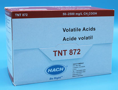 Picture of PK(25/pk) - H-TNT872 - Volatile Acids TNTplus Vial Test, 50-2500 mg/l (HTNT872)