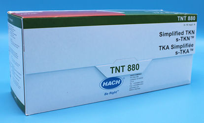 Picture of PK(25/pk) - H-TNT880 - Simplified TKN (s-TKN) TNTplus Vial Test, 0-16 mg/l N (HTNT880)