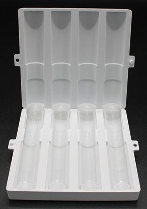Picture of PK(4/pk) - H-46600-04 - 10 ml Plastic Vial w/ Cap (H4660004)