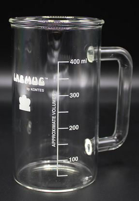 Picture of BK-500M - 500 ml Beaker w/ Handle and Spout (BK500M)