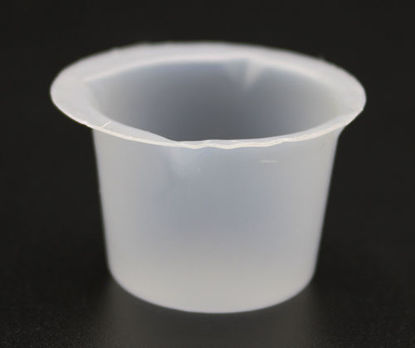 Picture of CS(1000/cs) - BE-5D - 5 ml Disposable Polystyrene Beakers (BE5D)