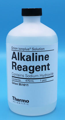 Picture of 475 ml - O-951011 - Alkaline Reagent, 10 N as NaOH (O951011)
