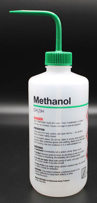 """Picture of BN-711ME - 500 ml Right-to-Know Wash Bottle, Labeled """"Methanol"""" (BN711ME)"""