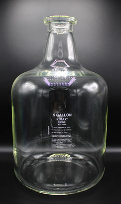 Picture of EA - BK-792 - 5 Gallon Glass Storage Bottle, Kimax (BK792)