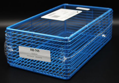 """Picture of EA - RB-765 - Epoxy-Coated Steel Wire Basket, 11"""" x 6"""" x 3.5"""" (RB765)"""