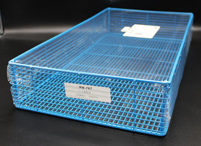 """Picture of EA - RB-767 - Epoxy-Coated Steel Wire Basket, 20"""" x 11"""" x 3.5"""" (RB767)"""