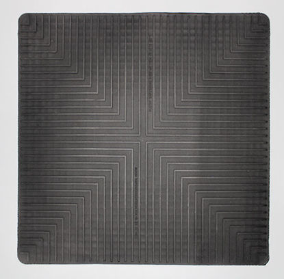 "Picture of EA - MB-350 - 14"" x 14"" Black Lab Safety Mat (MB350)"