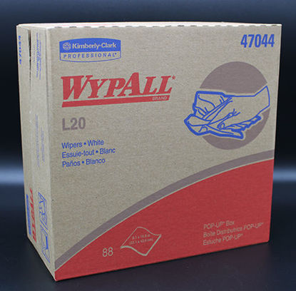 """Picture of KT-044 - Kimtowel WypAll L20 Wipers, 9⅛"""" x 16¾"""" (KT044)"""