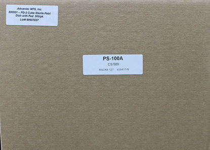 Picture of CS(500/cs) - PS-100A - 50 mm Petri Dishes, Sterile, w/ Pads (PS100A)