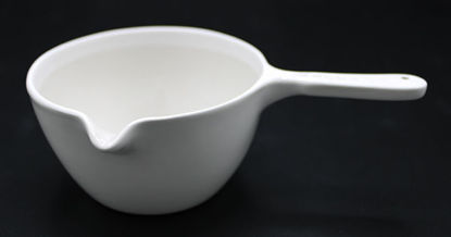 Picture of CC-187 - 140 ml Porcelain Casserole Dish w/ Handle (CC187)