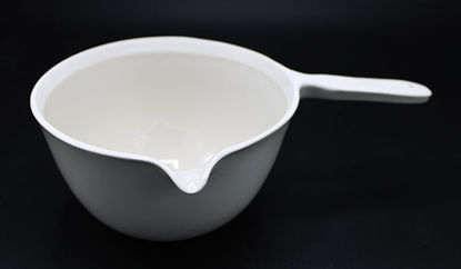 Picture of CC-190 - 500 ml Porcelain Casserole Dish w/ Handle (CC190)