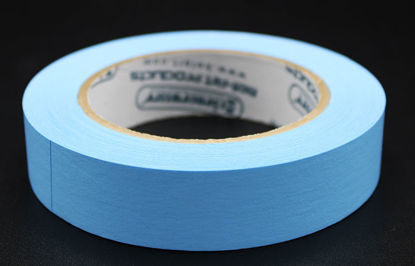 """Picture of LV-104B - 1"""" x 40 yd Blue Autoclave Labeling Tape (LV104B)"""