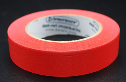 """Picture of LV-104R - 1"""" x 40 yd Red Autoclave Labeling Tape (LV104R)"""