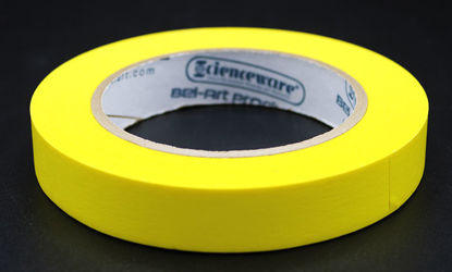 """Picture of LV-103Y - ¾"""" x 40 yd Yellow Autoclave Labeling Tape (LV103Y)"""