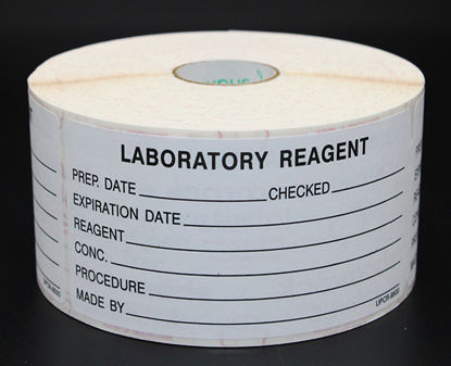 Picture of RL(500/rl) - RL-150 - Reagent Bottle Labels for Lab-Made Reagents (RL150)