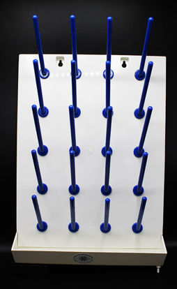 Picture of EA - DB-280 - Wall Mount Drying Rack w/ 20 Pegs (DB280)