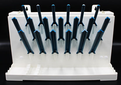 Picture of EA - DB-210 - Bench-Top or Wall Mount Drying Rack w/ 19 Pegs (DB210)