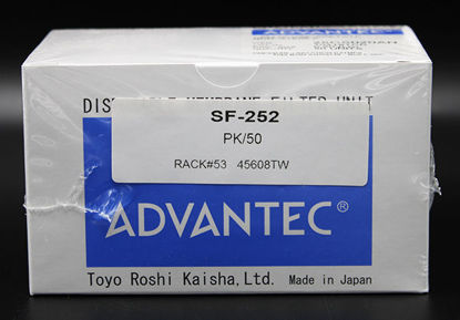 Picture of PK(50/pk) - SF-252 - Cellulose Acetate Syringe Filter, 0.2 μm, 25 mm (SF252)