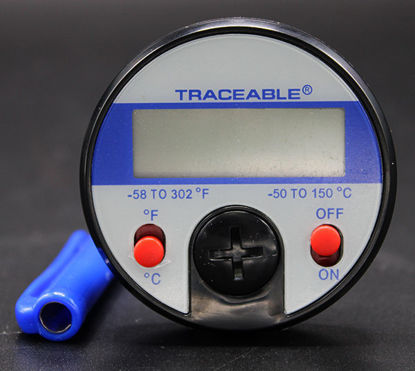 """Picture of EA - TC-449 - Digital Dial Thermometer w/ 5"""" Stem, -50 to 150°C, NIST (TC449)"""