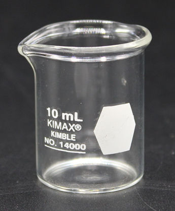 Picture of BK-399 - 10 ml Glass Beaker, Kimax (BK399)
