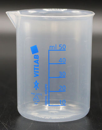 Picture of BN-500 - 50 ml Plastic PP Beaker (BN500)