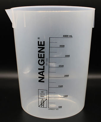 Picture of BN-508 - 4000 ml Plastic PP Beaker (BN508)