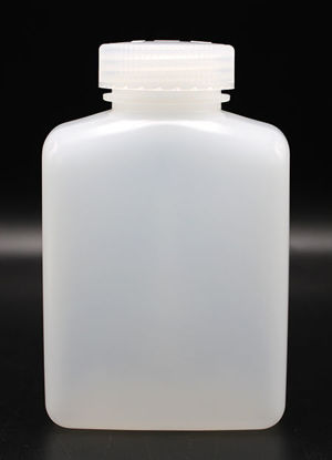 Picture of BN-732 - 500 ml Wide-Mouth Rectangular HDPE Bottle (BN732)