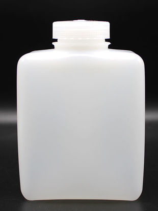 Picture of BN-733 - 1000 ml Wide-Mouth Rectangular HDPE Bottle (BN733)