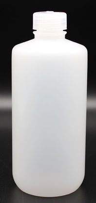 Picture of BN-412 - 500 ml Narrow-Mouth Round HDPE Bottle (BN412)