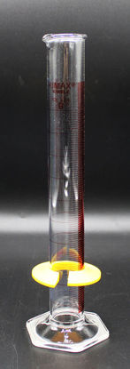 Picture of CK-573R - 100 ml Red-Line Glass Graduated Cylinder, Kimax (CK573R)