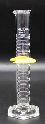 Picture of CK-572A - 50 ml Class A Glass Graduated Cylinder, Kimax (CK572A)
