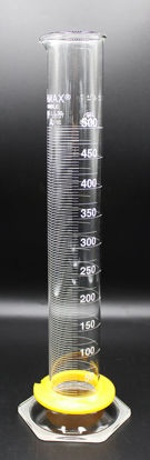 Picture of CK-575A - 500 ml Class A Glass Graduated Cylinder, Kimax (CK575A)