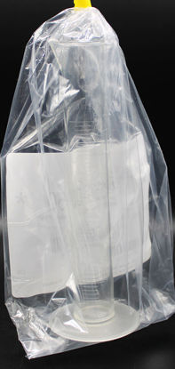 Picture of CB-592 - 50 ml Economy Clear PMP Graduated Cylinder (CB592)