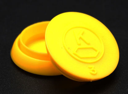 Picture of FK-153 - Snap Cap, Kimax, PE, Size 3 (FK153)