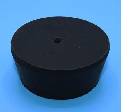 Picture of R-12A - Size 12 1-Hole Rubber Stopper (R12A)
