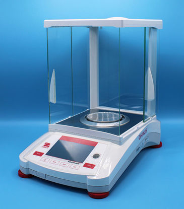 Picture of EA - AX-124 - Ohaus Adventurer Analytical Balance w/ AutoCal, 120 g x 0.1 mg (AX124)