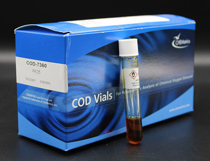 Picture of PK(25/pk) - COD-7360 - COD Vials, 0-1500 ppm, 30 ppm MDL (COD7360)