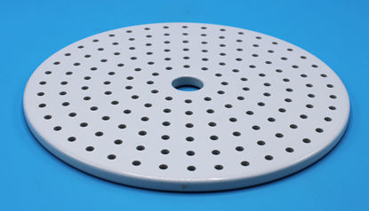 "Picture of EA - DC-250B - Porcelain Plate for 250 mm/10"" Desiccator DC-250 (DC250B)"
