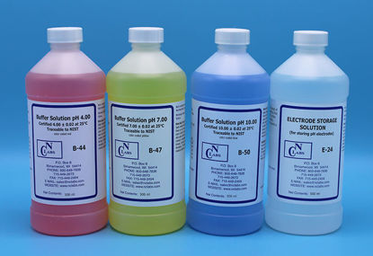 Picture of 4 x 500 ml - BUF-KIT - pH Buffer Solution Electrode Kit (BUFKIT)