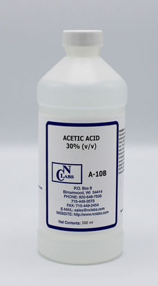 Picture of 500 ml - A-10B - Acetic Acid, 30% (v/v) (A10B)