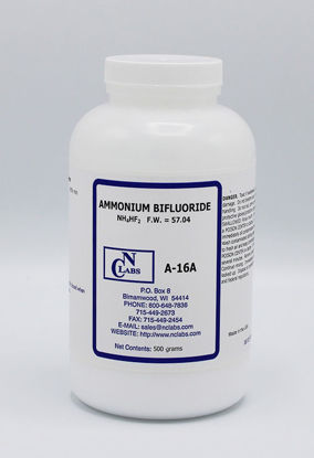 Picture of 500 g - A-16A - Ammonium Bifluoride, ACS (A16A)
