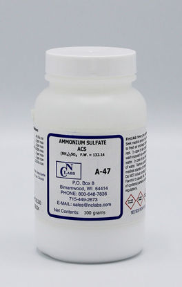 Picture of A-47 - Ammonium Sulfate, ACS (A47)