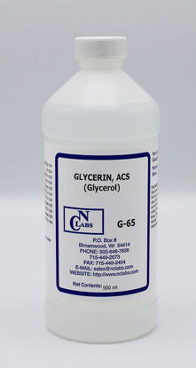 Picture of G-65 - Glycerin (Glycerol), ACS (G65)