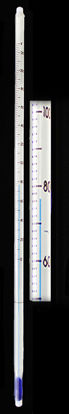 Picture of EA - ES-23FT - Safety-Coated Ever-Safe Non-Toxic Blue-Liquid Thermometer, 0 to 230°F (ES23FT)