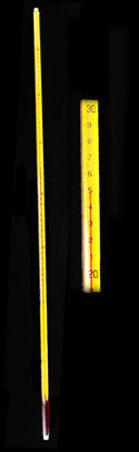 Picture of EA - TE-51CT - Safety-Coated High-Precision Red-Liquid Thermometer, -1 to 51°C in 0.1°C Increments (TE51CT)