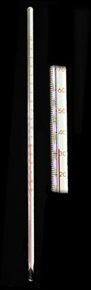 Picture of EA - TJ-15C - General Lab Red-Liquid Thermometer, -20 to 150°C (TJ15C)