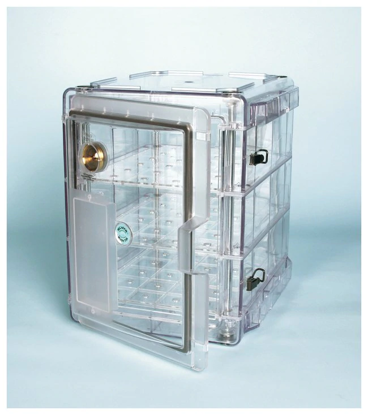 Picture of EA - DK-202 - Medium Vertical-Profile Auto Desiccator Cabinet w/ 3 Shelves, 2 cu ft (DK202)