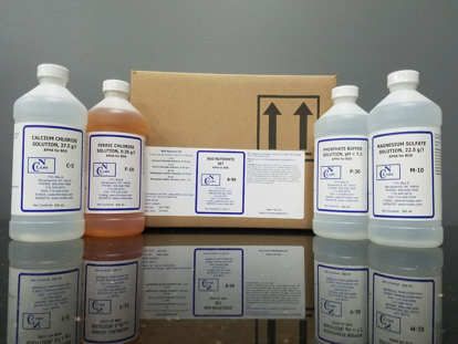 Picture of SET - B-99 - BOD Nutrient Set, 4 x 500 ml (B99)